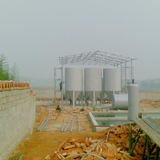 Pyrolysis oil refining machine