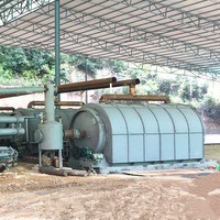Used plastic pyrolysis to oil plant with catalytic tower